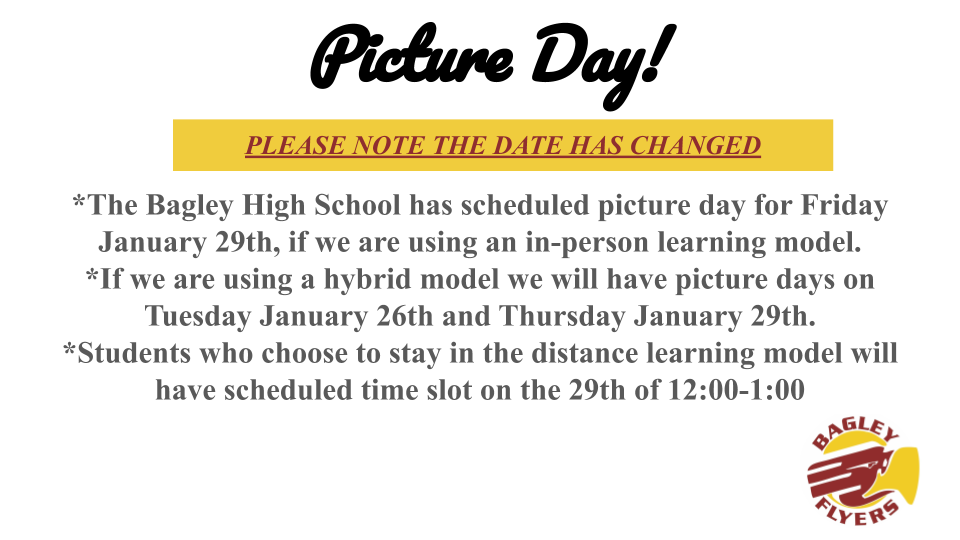 Picture Day Change
