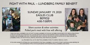 Fight with Paul - Lundberg Family Benefit
