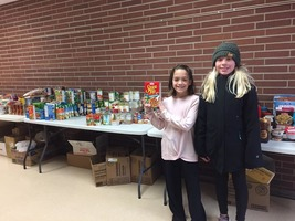Elementary Annual Food Shelf Drive