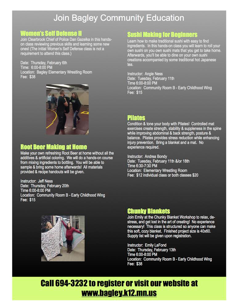 January classes
