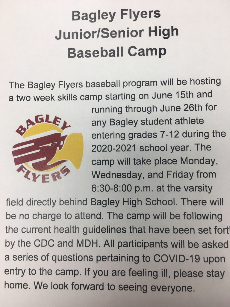 Flyers Baseball Camp Information